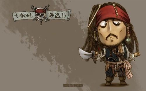 【图片】原创杰克船长q版