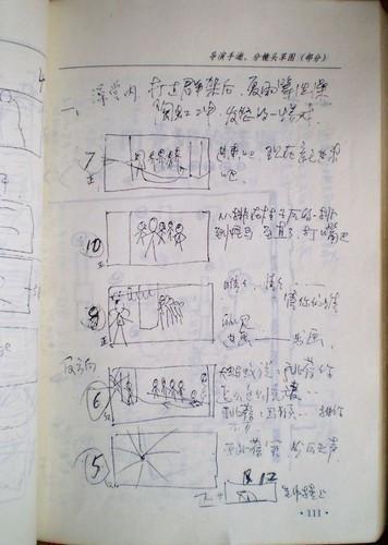 姜文手绘的《阳光》分镜