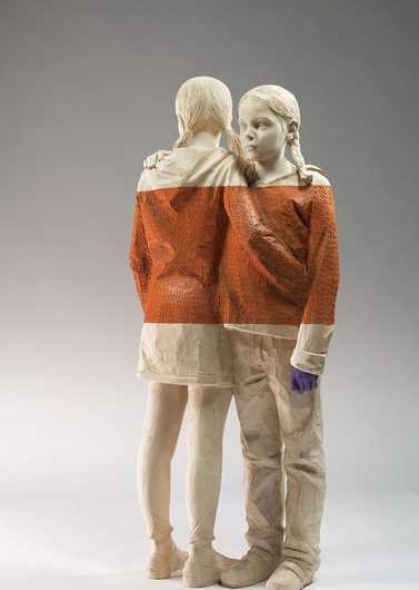 意大利木雕艺术家