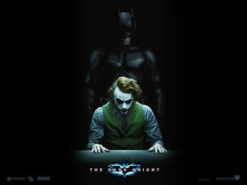 蝙蝠侠与小丑