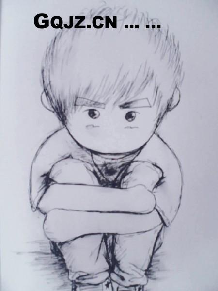 社会猴铅笔画