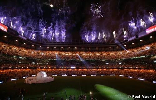 plano general estadio celebracion carrus