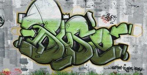 超强阵容街头涂鸦作品