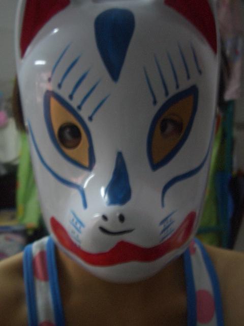 暗部的面具.