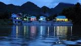 湄南河夜色