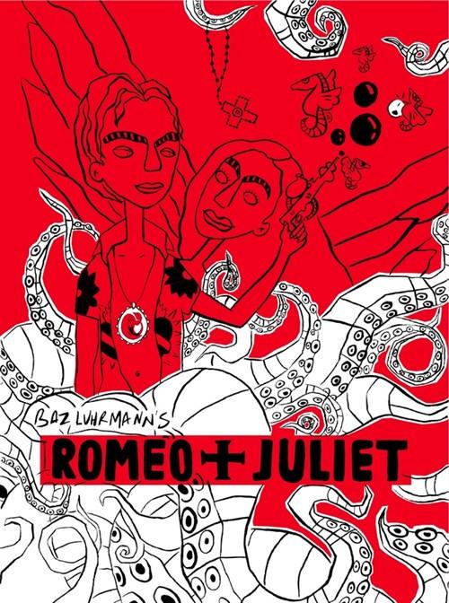 【海报】黑白红三色风格电影海报