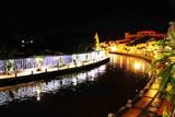 马六甲河夜景
