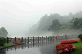 雨雾都江堰