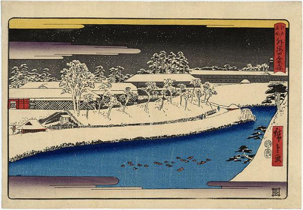 近代 陈逸飞学生时代风格(16岁)木板油画风景写生图片