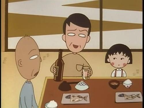 一家人吃饭卡通图; 来自相册