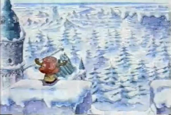 雪中霸氣男孩頭像