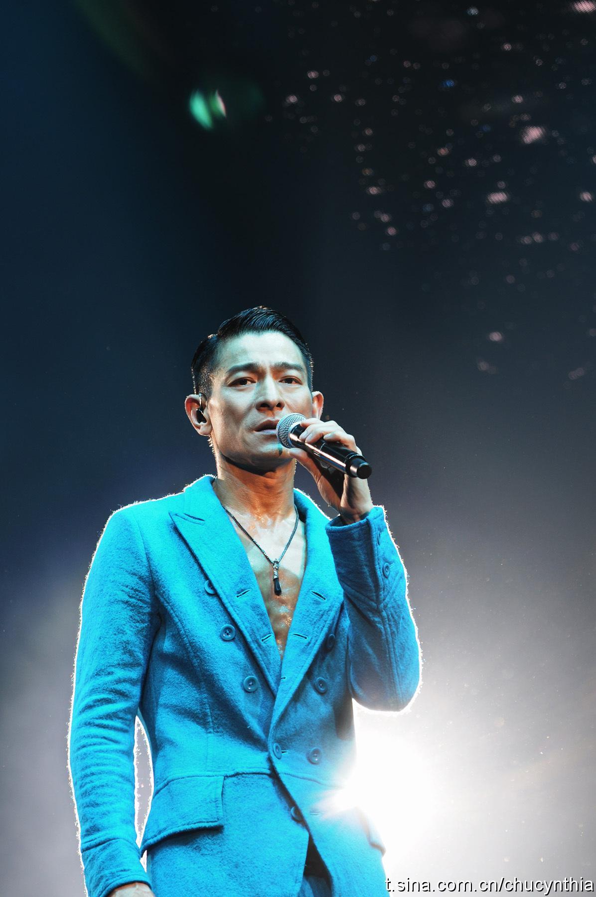 刘德华2017香港演唱会图片