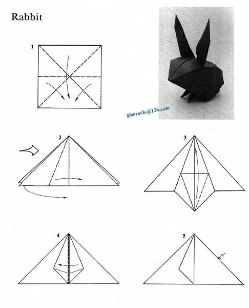 折兔子的方法步骤图