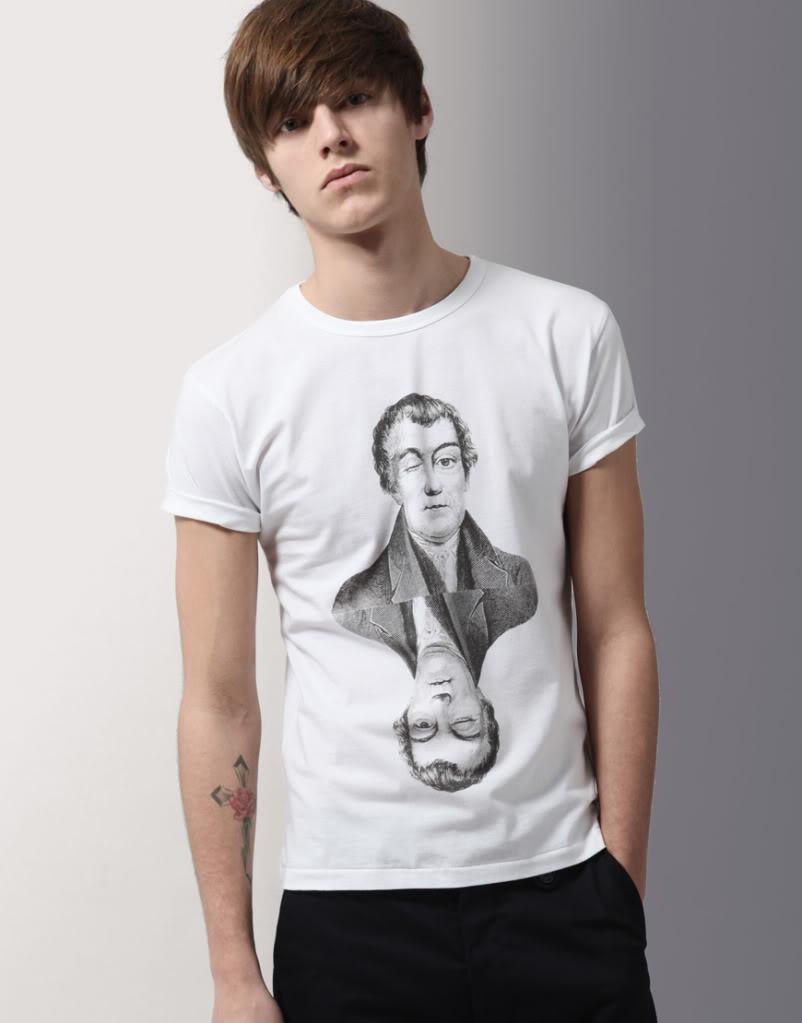 男模特t恤