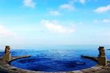 blue point 无边泳池