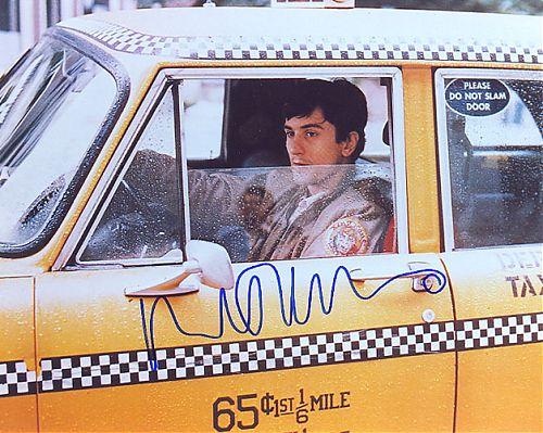 德尼罗签名剧照-出租车司机