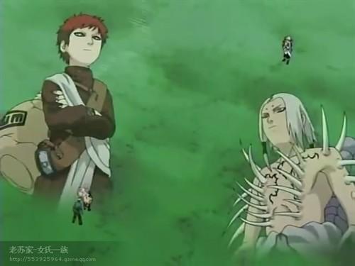 我爱罗&君麻吕--火影忍者!