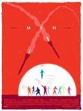 《X战警:初级》极简风格海报