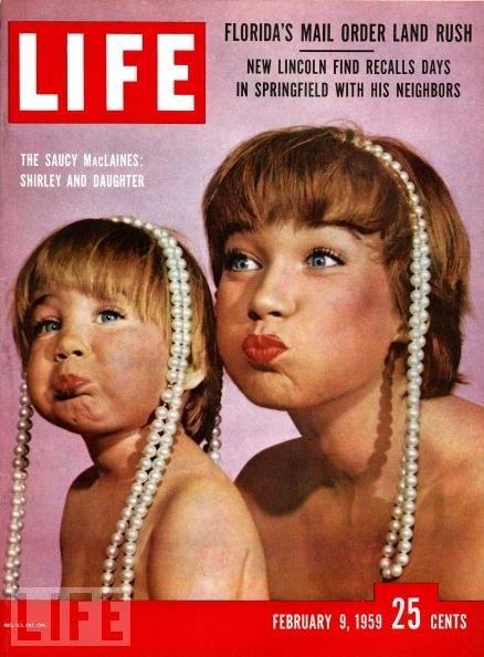 1959年和她的女儿一样喜剧和可爱