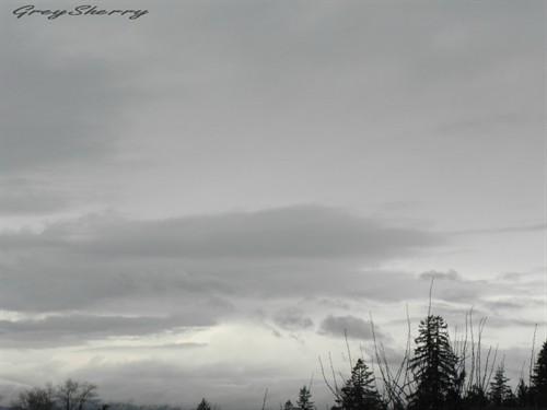 灰色天空背景素材高清大图