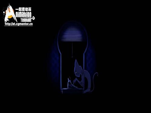 黑色童话:【中文字幕】《黑猫钢琴》