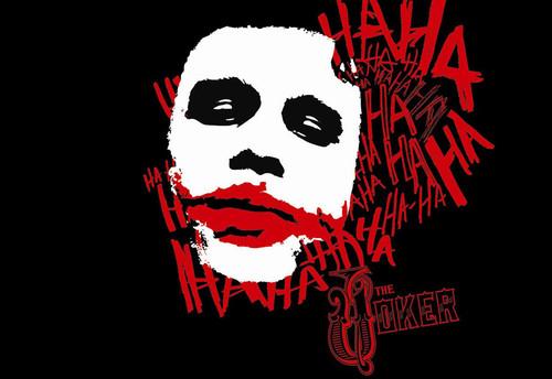 漫画蝙蝠侠小丑的嘴-jokerwallpaper4