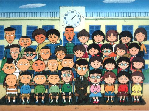 来张大合照,小丸子班上各式各样骑呢古怪的同班同学来个大集合图片