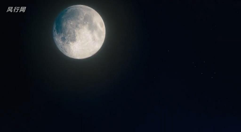 黑色手绘月亮星星
