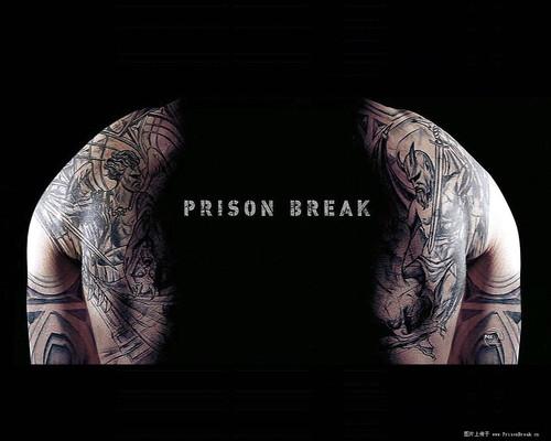越狱纹身图片
