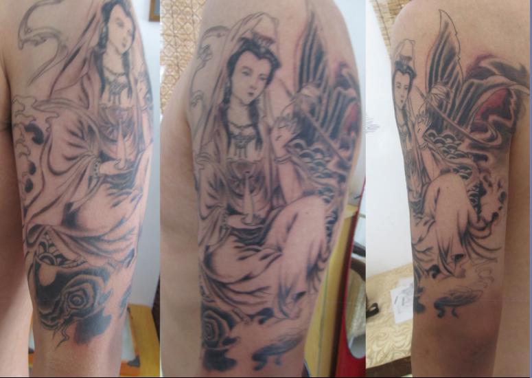 可爱的天平座纹身