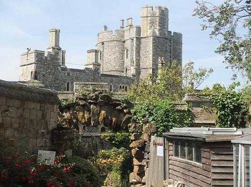 最美丽的城堡 温莎古堡图片