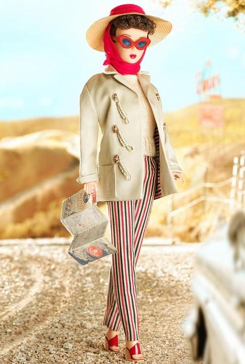 漂亮的芭比娃娃