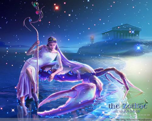 蓝色大海女生漂浮头像