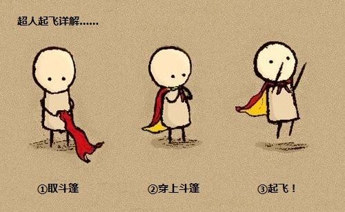 超人手绘素材相册