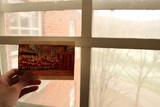 我寄的第一张国际明信片