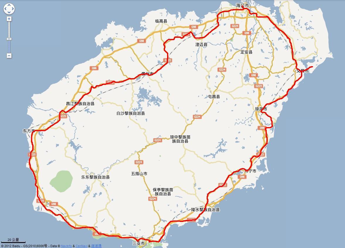 海南环岛自行车游最美线路指南