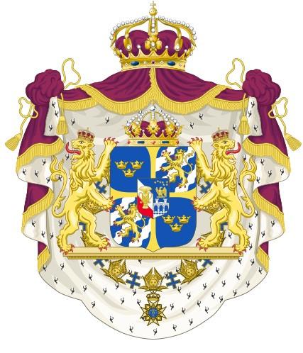 瑞典小国徽矢量图