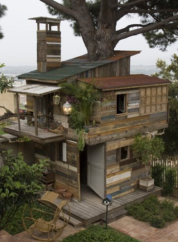 树屋平面设计图
